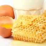 Manfaat madu dan telur