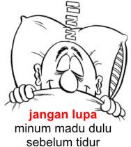 Manfaat minum madu sebelum tidur