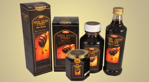Khasiat madu hitam pahit propolis